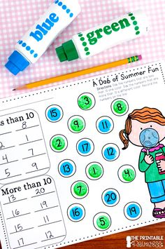 Looking for some engaging activities to keep your kiddos on task up until the very last day? Check out this summer themed NO PREP packet that includes math and literacy activities perfect for Kindergarten!