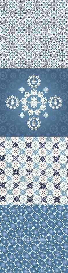 일러스트 #이미지투데이 #imagetoday #클립아트코리아 #clipartkorea #통로이미지 #tongroimages 고풍 무늬 반복 백그라운드 배경 벽지 블루 포장지 패턴 앤틱 추상 특이 antique repeat background blue pattern unique illust illustration