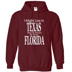Are you from Florida ? This shirt for you. Get it now today