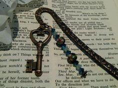 Steampunk Bookmark  'The Key to Beauty 2 ' by cultangel on Etsy,