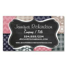 Quilting patchwork grunge quilter sewing gift card business card quilting patchwork grunge quilter sewing gift card business card pinterest reheart Choice Image