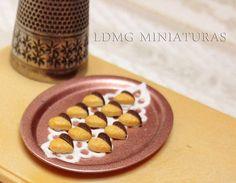 ♡ ♡  1:12 Escala Miniatura. Set de 9 Galletas / por LDMGMiniatures