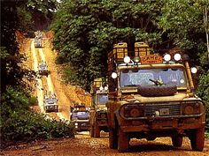 Way before I had my driver's licence, I dreamt of participating in a Camel Trophy Tour...