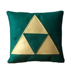 i could easily make these. :) you know, if we need a zelda themed living room.