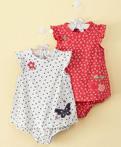 First Impressions Baby Sunsuit, Baby Girl Sundress - Kids Shop All Baby - Macy's