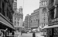 Calle Preciados-Callao 1957 Urech