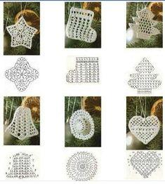 Best 12 Star Christmas: crochet ornaments – with diagram by Jeroen En Franciska Jonkman – SkillOfKing.Com - Her Crochet Crochet Snowflake Pattern, Crochet Motifs, Christmas Crochet Patterns, Holiday Crochet, Crochet Snowflakes, Crochet Chart, Crochet Doilies, Crochet Flowers, Crochet Diy