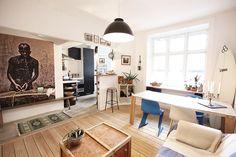 RobinHus - Ejerlejlighed i København N sælges : Bo nemt og rart og brug din tid på livet