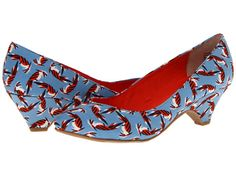 BC Footwear In The Winners Circle Blue Bird Print - Zappos.com Free Shipping BOTH Ways