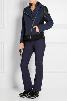 Fusalp | Bonneval leather-trimmed shell ski jacket | NET-A-PORTER.COM
