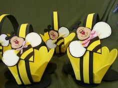 Cestitas abejas foami