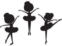 Silhouette Ballerina Clip Art   Meylah