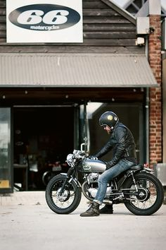 66 Motorcycles #caferacer #motorcycles #motos | caferacerpasion.com