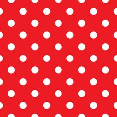 Red polka dot seamless pattern design vector 1488972 - by lordalea on VectorStock® Retro Vector, Vector Free, Polka Dot Fabric, Polka Dots, Vector Background, Cute Art, Creative Business, Pattern Design, How To Draw Hands