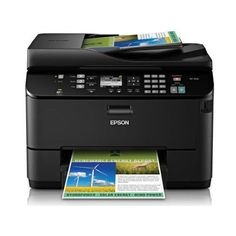 Epson WorkForce Pro WP-4530 Wireless All-in-One Color Inkjet Printer, Copier, Scanner, Fax, iOS/Tablet/Smartphone/AirPrint Compatible (C11CB33201)    World's fastest automatic two-sided printer 50% lower printing cost than color lasers.  30page two-sided Document Feeder to copy, scan or fax stacks of one or two-sided originals, saves 50% of  paper.  Extra-large ink cartridges available, print up to four reams of paper without changing ink.  Remarkable durability, 20,000-page duty cycle…