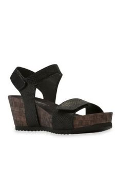 Walking Cradles Black Theta Sandal