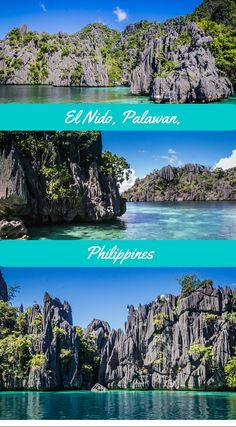 EL Nido, Palawan Philippines. This is True Unspoiled Paradise in the Philippines: The Archipelago Of El Nido, Philippines. The beauty of El Nido is almost surreal with  white beaches, crystal clear waters and its underwater world, that will take your breath away. Discover El Nido, Palawan click to read the full Adventure Travel Blog About The Philippines and its hidden Gems at  http://www.divergenttravelers.com/destinations/philippines/