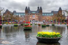 Photograph I Amsterdam by Luca Santoro Photography © on 500px (museumplein)