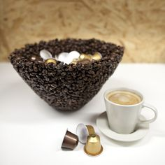 Coffee Bean Espresso Earrings Java Themed with Half n Half and Sugar Charms