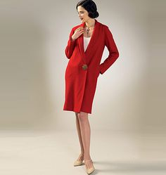 Step back to 1927 and flapper days with this new Archive Collection from McCall's. M7259, Misses' Coat and Detachable Cape and Collar