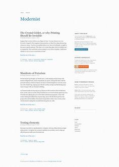 minimalistisch wordpress themes 02 10 Minimalistische Wordpress Themes für Blogs