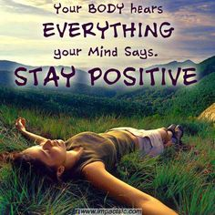 Think positive thoughts. Happy Thoughts, Positive Thoughts, Positive Vibes, Positive Quotes, Random Quotes, Random Thoughts, Negative Thoughts, Positive Mindset, Best Inspirational Quotes