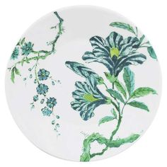 Chinoiserie White Assiette 18cm - Jasper Conran - Wedgwood - RoyalDesign.fr