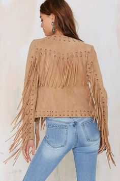 Enter the Nasty Galaxy. Shop the latest women's clothing and fashion accessories online from Nasty Gal. Fringe Jacket, Winter Warmers, Suede Jacket, Fringes, Nasty Gal, Off Shoulder Blouse, Jeans, Bell Sleeve Top, Ruffle Blouse