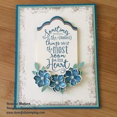 Heart Felt Stamping: Layering Love, Timeless Textures, Petite Petals stamp sets: Mint Macaron, Tip Top Taupe, Island Indigo, Very Vanilla: Lots of Labels Framelits: Bird Builder Punch: