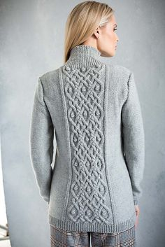 Ravelry: #5 Cable Panel Pullover pattern by Melissa Leapman