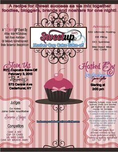 Kosher Cupcake Bake-Off Flyer Final