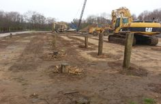 1000 images about foundations on pinterest foundation for Wood piling foundation