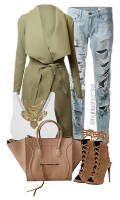 """Chill"" by highfashionfiles ❤ liked on Polyvore featuring ファッション, rag & bone, DKNY, Giuseppe Zanotti と GOLDBARR"