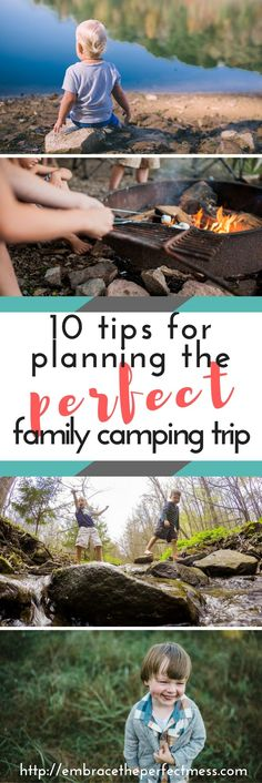 If you're wondering how to plan a family camping trip, these are some great trips!