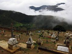 Cemetery in the Venezuelan Andes