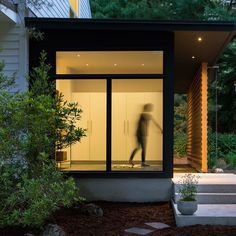 Aamodt Plumb Architects has updated a Massachusetts dwelling made up of old barns that were converted into a single-family home in the 1950s
