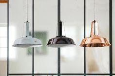 Hanglamp Industriële Workshop - S - Zwart - HK Living - Woonwebwinkel LiL.nl RECHTS!