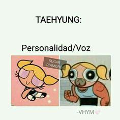 Tal cual Taehyung