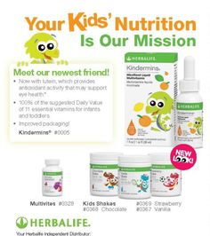 Herbalife kids more info please contact me at +5214444262452 or nutrición.celular.slp@gmail.com