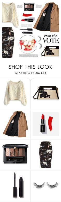 Rock the Vote by dorinela-hamamci on Polyvore featuring Chicwish, River Island, Brahmin, Guerlain, Chanel, Sephora Collection, polyvorecontest, polyvoreditorial and rockthevote