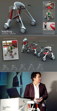 Leapfrog (Celebral Palsy Helper) by Donn won Braun