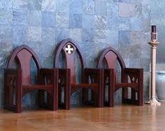 Altar curved chair