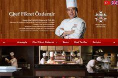 Executive Chef Fikret Özdemir Kişisel Portfolyo Web Sitesi  www.cheffikretozdemir.com
