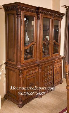 Chair Design Wooden, Wood Design, Crockery Cabinet, Tv Unit Furniture, Wooden Wagon, Dining Room Colors, Ceramic Jewelry, Kebaya, Custom Furniture