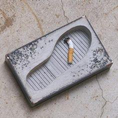 foot ashtray