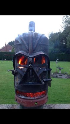 Darth Vada fire pit for the Garden