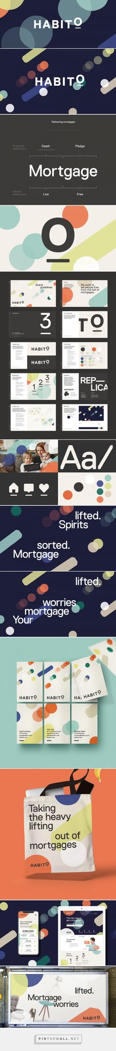 Brand New: Follow-up: New Logo and Identity for Habito by MultiAdaptor... - a grouped images picture - Pin Them All