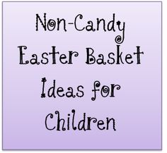 great (creative, frugal, handmade, fun) ideas for an easter basket or kids' stocking.