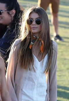 Kaia Gerber Nailed Festival Style on Her Very First Try