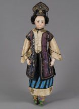 Asian fashion lady from the Eugene Barrois